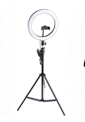 Iluminador Ringlight 26cm Anelluz C Tripé 2m  Enviar  24hs