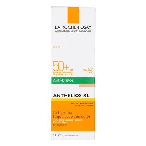 Protector Solar La Roche-posay Anthelios Xl Toque Seco Con Color En Crema Fps50 X 50ml