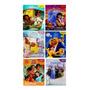 Coleção Livros Miniaturas Da Disney Com 6 Livros
