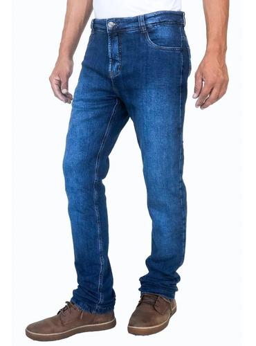 Calça Corse Motorcycle Jeans Azul Com Kevlar Proteção