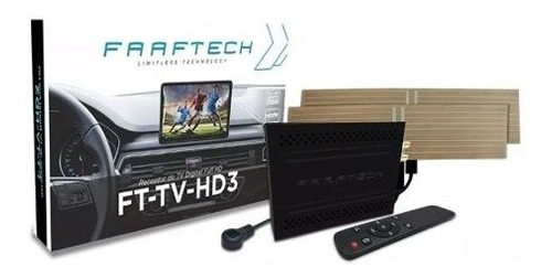 Receptor De Tv Full Hd Automotiva Faaftech Ft tv hd3