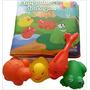 Livro De Banho Amiguinhos Da Lagoa C/3 Animais Que Esguicham