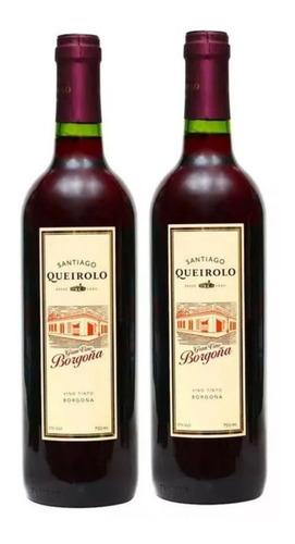 Vino Queirolo 750ml X12 Und. Borgoña, Rose Y Magdalena