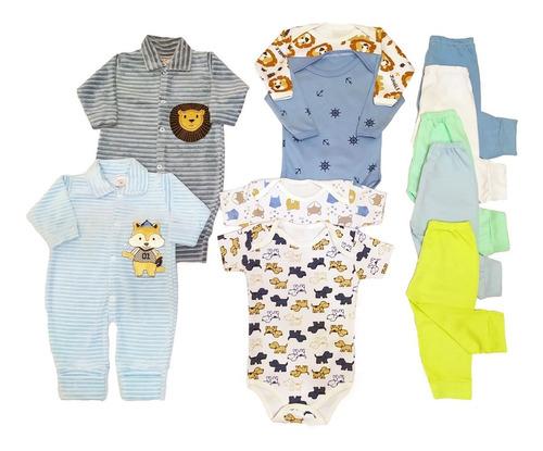 Kit 11 Pçs Maternidade Roupinhas De Bebe Super Promoção