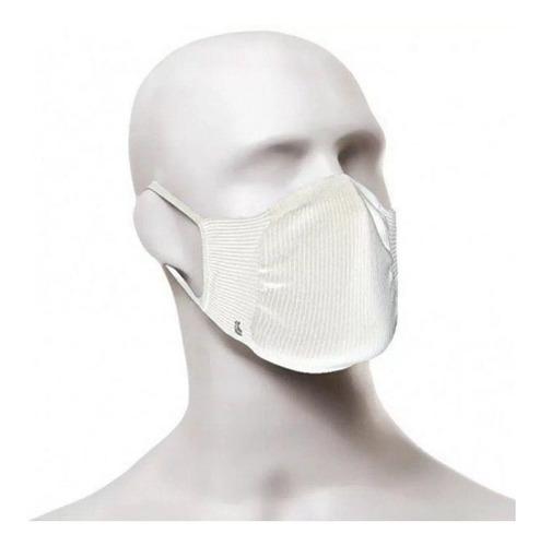 Máscara Tecido Lupo Branca Elástico (c/02 Und) Lupo
