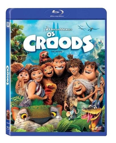 Os Croods - Blu-ray ( Novo,  E Lacrado) Original