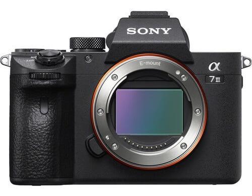 Câmera Sony Alpha A7iii Mirrorless (corpo) Nf Garantia Sony
