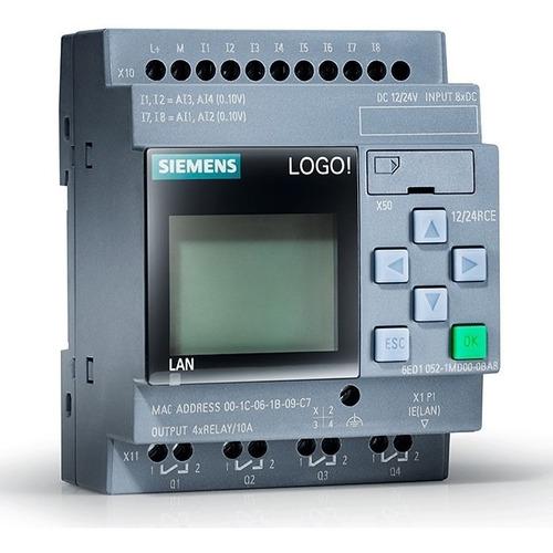 Nuevo! Controlador Logo Siemens V8! 12/24rce (iva Incluido)