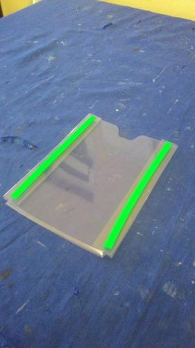 10 Display De Pvc Cristal 1mm Tamanho A-4 Parede