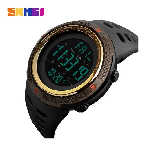 Relógio Digital Esportivo Prova D'água Skmei 1251 Dourado