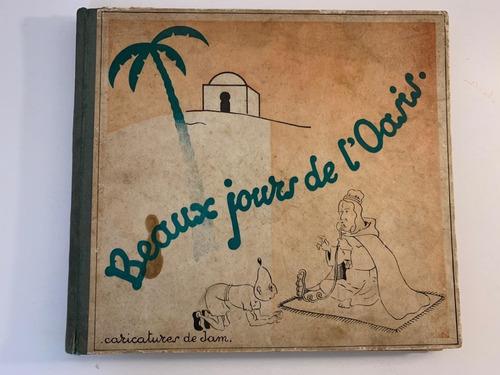 Antiguo Libro De Caricaturas Belgas.  Tipo Tintin De Bélgica