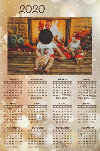 Calendário De Parede Lembrancinha Personalizado - 10-unid.