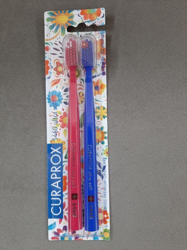 Escova Dental Curaprox Ultra Soft 5460 C/ 2 Escovas