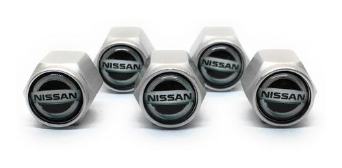 Tapa Valvulas Para Neumatico Emblema Nissan