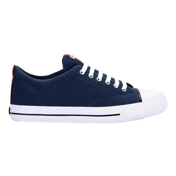 Zapatillas Topper C Moda Profesional Insignia Azul Hombre Az