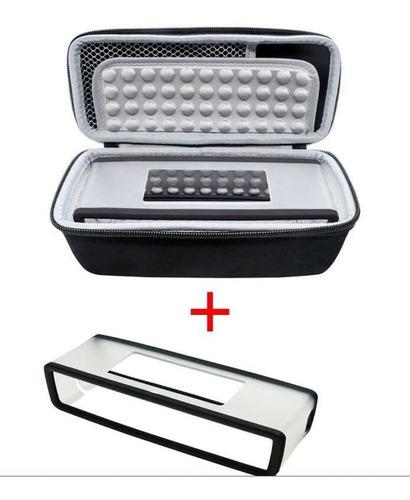 Bolsa De Armazenamento + Capa Macia Para Bose-soundlink Mini