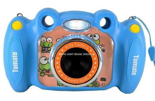 Câmera Fotografica C/ Flash Infantil Criança Animação  + Nf