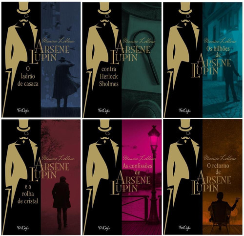 Kit Arsène Lupin (coleção Completa - 6 Volumes) - Tricaju