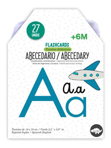 Flash Cards Abecedario - Kocodío