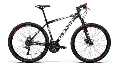 Bicicleta Alumínio Aro 29 Gts 21 Vel Freio A Disco G7 Promo