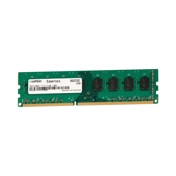 Memoria Ram Pc Mushkin Essentials Ddr3 4gb 1600mhz