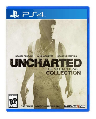 Uncharted Nathan Drake Collection Sony Fisico Ps4 Impecable