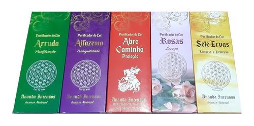 Incenso Ananda Natural Kit 5 Caixas (1 Aroma Por Caixa)