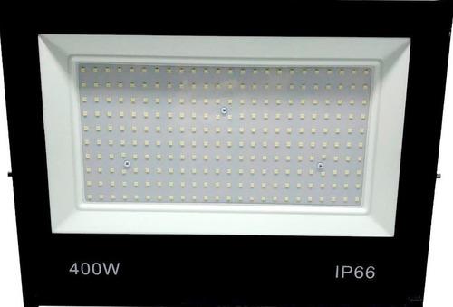 Refletor 400w Led Holofote Ip66 Bivolt Blindado Luz Forte Bf
