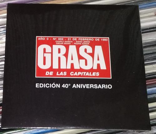 Seru Giran Grasa De Las Capitales 40 Aniversario Cd Kktus