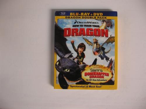 Blu Ray Como Entrenar A Tu Dragon Version 2 Discos