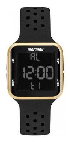 Relógio Mormaii Feminino Digital Quadrado Mo6600/8d