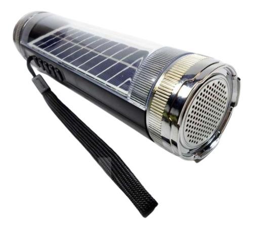 Caixa De Som Carregador Solar Caixinha Usb Rádio Em Promoção