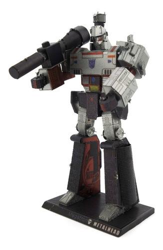 Megatron Rompecabezas 3d Metalicos Transformers G1 Puzzle
