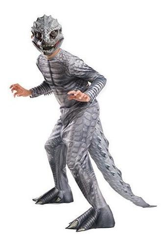 Disfraz De Rubie Jurassic World Indominus Rex Para Niño, Gra