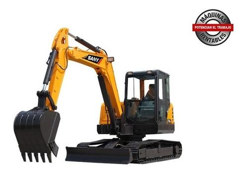 Excavadora Sany Sy50u, Desde