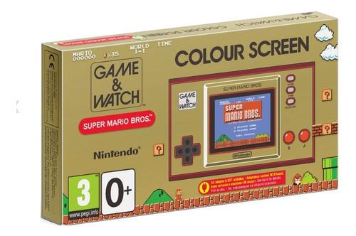 Console Game E Watch Super Mario Bros  Europeu Lacrado