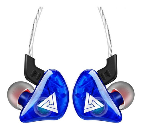 Auriculares In-ear Qkz Ck5 Azul