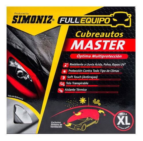 Cubre Auto Master Talla Xl Simoniz Full Equipo
