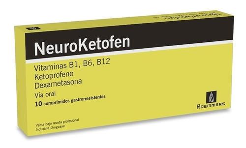 Neuroketofen X 10 Comprimidos Recubiertos