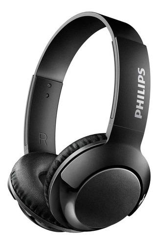 Auriculares Inalámbricos Philips Bass+ Shb3075 Negro