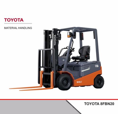 Autoelevador Eléctrico Toyota 8fbn20 2 Tn 4 Ruedas 0 Hs