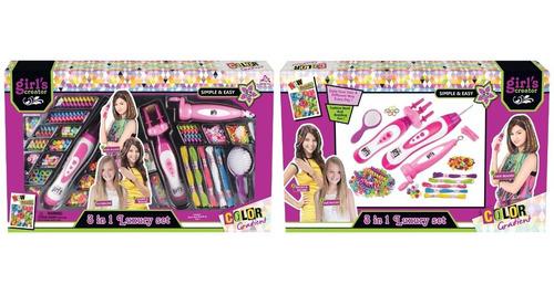 Kit De Peinados Para Niñas Grande