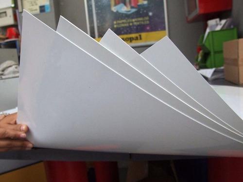 Placa Alto Impacto 2mt X 1mt Blanco 1mm. + Envio Gratis !