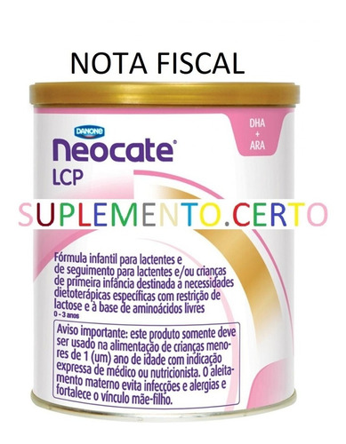Neocate Lcp 6 Unidades