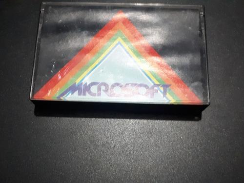 Fita Computadores Msx Plansoft Microsoft Com Jogos Relíquia