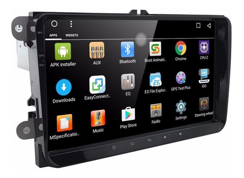 Stereo Vw Tcross 9 Pulgadas Gps Android Ios Mirror Bluetooth