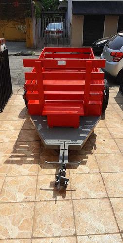 Carreta Agricola Fixa P/ Micro Trator Tobatta E Yanmar
