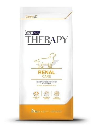 Alimento Vitalcan Therapy Renal Care Para Perro Adulto Todos Los Tamaños Sabor Mix En Bolsa De 2kg