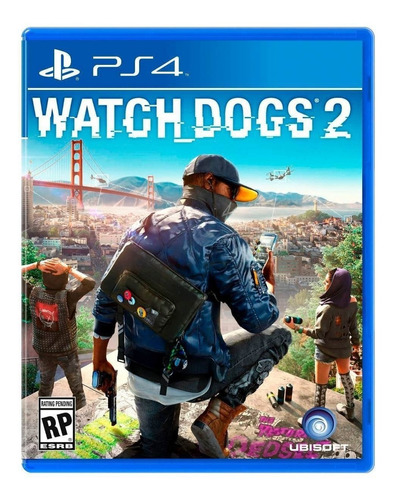 Watch Dogs 2 Standard Edition Físico Ps4 Ubisoft