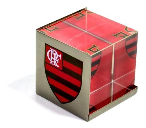 Porta Retrato Forma De Cubo Clube De Regatas Do Flamengo